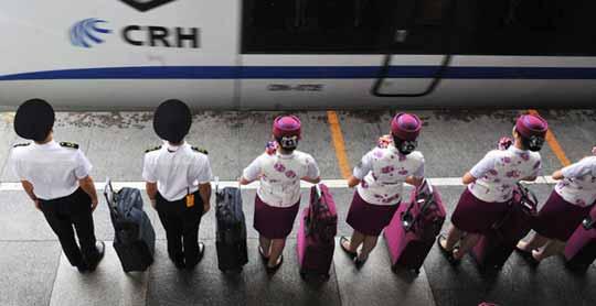 成都至上海动车首发 票价贵过飞机